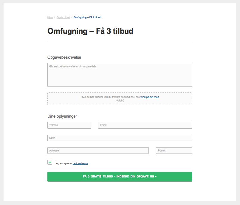 Få 3 tilbud på omfugning hos 3byggetilbud.dk