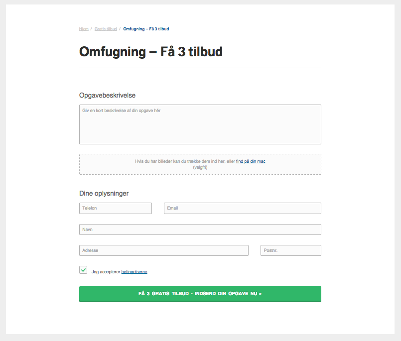 Få 3 tilbud på fugning hos 3byggetilbud.dk